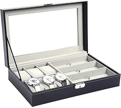 HETM High-end-uhrenbox Schutzhülle Brille Vitrine Multifunktionale Professionelle Uhr Schmuck Aufbewahrungsbox-eins Sort Out Organizer