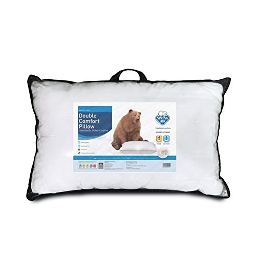Spring Air_ Almohada Double Confort Pillow Memory Foam Sleep Fitness