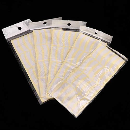Autocollant d'extension de cils, 500 paires de ruban de greffe de cils professionnel pour protéger le contour des yeux pour l'isolement des cils de greffe