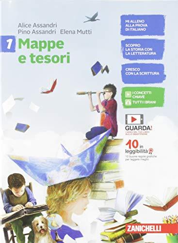 Mappe e tesori. Con Alla scoperta dei classici. Per la Scuola media. Con e-book: 1
