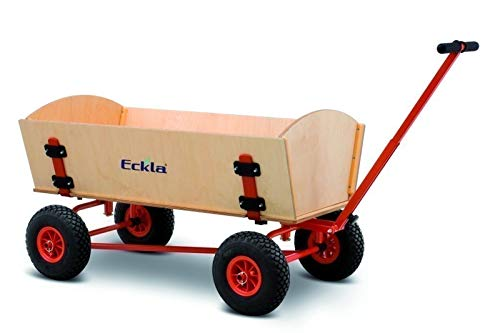 ECKLA XXL Fun Bollerwagen Trailer mit Hinterachslenkung