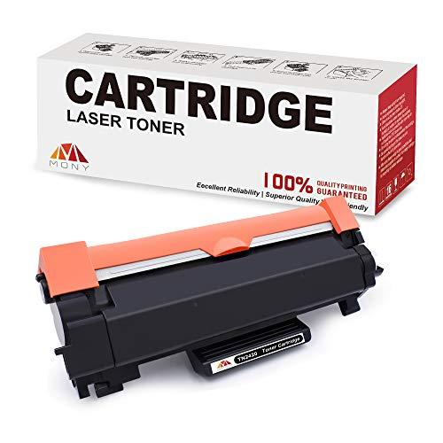 Mony Kompatibel Brother TN2420 TN-2420 Toner (1 Schwarz, mit Chip) für Brother MFC-L2710dw HL-L2350dw MFC-L2710dn HL-L2310d DCP-L2530dw DCP-L2510d MFC-L2750dw HL-L2370dn DCP-L2550dn Laserdrucker