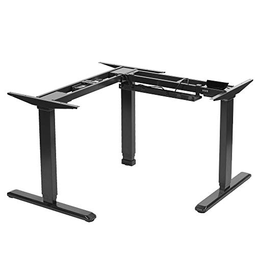 VIVO Electric L Shape Desk Frame