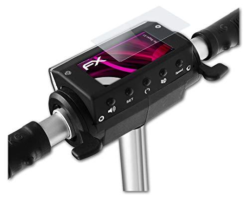atFoliX Protection Écran Film de Verre en Plastique Compatible avec Kugoo S1 Verre Film Protecteur, 9H Hybrid-Glass FX Protection Écran en Verre trempé de Plastique