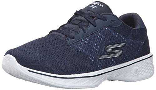 Skechers Performance Women's Go Walk 4 Exceed Walking Shoe, Black, 10...