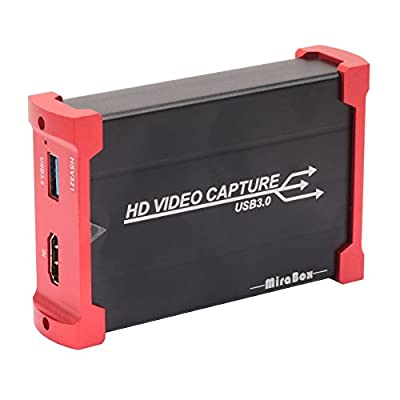 USB 3.0 HDMI Game Capture Card Device With HDMI Loop-out Support HD Video