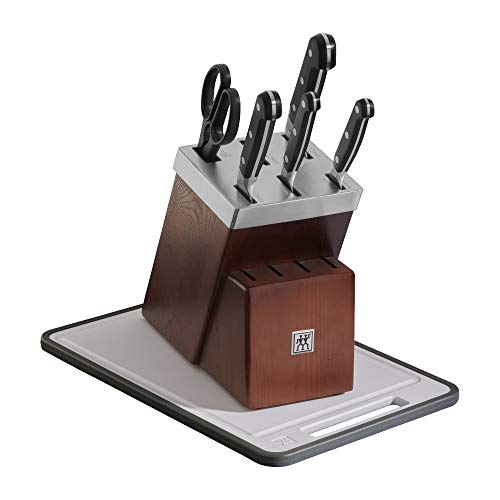 ZWILLING Pro 7-pc Self-Sharpening Knife Block Set