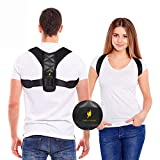 Posture Corrector for Women and Men - Adjustable Shoulder Support Brace - Back