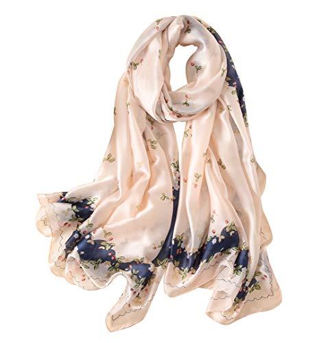 Sciarpa 100% Seta per Donna Colore sfumato, Scialle di eleganti ed Moda Dona alla signora un regalo molto buono