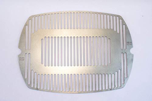deingrillrost.de / Grillrost f. Weber Q200 2000 220 240 UVM. Edelstahl Rost VA 4 mm EE
