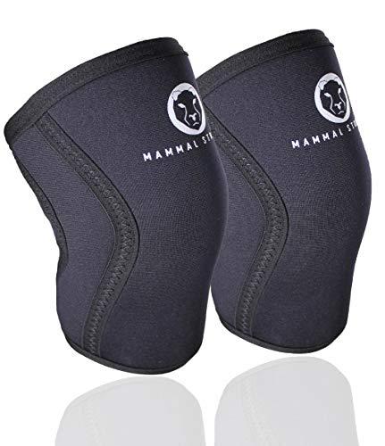 Mammal Strength Knee Sleeves (1 pair) - Premium Wrapping Knee Sleeve...