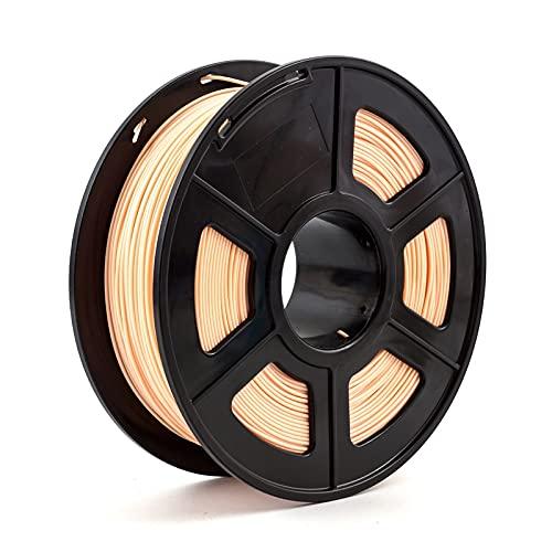 JIALUN ZFX-DAYIN, 1pc Stampante 3D PLA ABS filamento 1,75 Millimetri 1kg +/- 0,02 Millimetri 343m 2.2kg for 3D Stampante o 3  Penna 3D Stampa Plastic Printing Filament Cheap (Color : PLA Skin)
