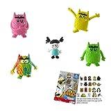 Lote 5 Figuras Comansi Monstruo de Colores - Alegría - Amor - Calma - Multicolor - Nuna +...