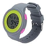 Orologi sportivi, orologio digitale di produzione squisita Design antiurto Funzione di retroilluminazione a LED per il nuoto