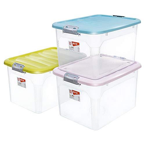 LOGO Kleidung Quilt Aufbewahrungsbehälter 55 Liter 3 Pack Kinder Spielzeug-Speicher-Box-Datei und Buch-Aufbewahrungsbehälter Druck Umzug Verpackungs-Kasten-Aufbewahrungsbehälter Kleidung Quilt Aufbewa