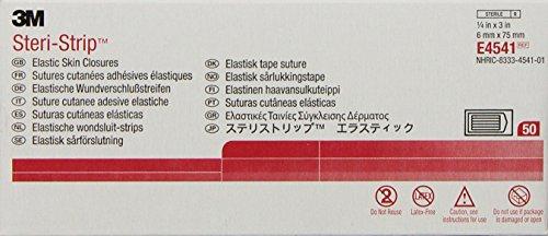 Steri-StripTM Elastic - mm 6 x 75 mm steriele weefband van elastische Tnt, 150 stuks (50 zakken 3 strips)