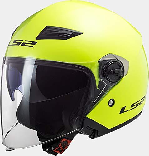 Casco LS2 amarillo