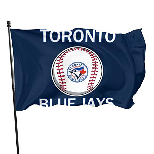 WAF Toronto Blue_Jays Large Flag Durable Long Lasting for Outdoor Use 3×5ft