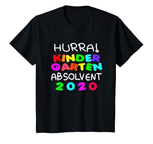 Kinder Shirt zum Kindergarten Abschied Abschluss 2020 Geschenk T-Shirt