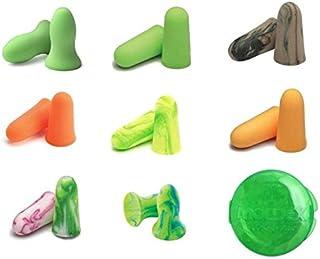 MOLDEX 使い捨て耳栓 コード無し お試し8種純正パック ケース付
