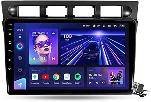 Navigazione GPS Autoradio per K-IA Picanto SA Morning 2004-2007, Schermo tattile IPS Android 10.0 Autoradio Stereo Supporta Il Controllo del Volante BT Mirror-Link 4G WiFi