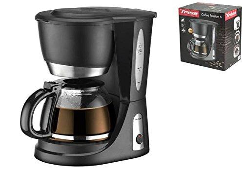 Trisa Electronics Coffe Passion 6 Filterkaffemaschine, Schwarz