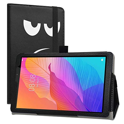 LiuShan Compatible with Huawei MatePad T8 Case,PU Leather Slim Folding Stand Cover for 8.0' Huawei MatePad T8 Tablet (Not Fit 10.1 Huawei MediaPad T3),Don't Touch