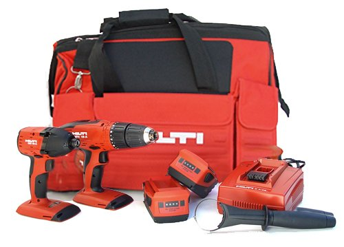 Amazing Deal Hilti 03482660 SFH 18-A and SID 18-A CPC 18-volt Cordless Impact Driver and Hammer Dril...
