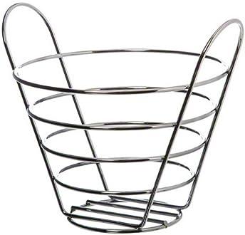 American Metalcraft FCD2 Baskets 7 Length x 7 Width Black