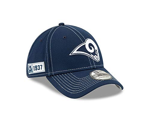 New Era Herren 39Thirty Los Angeles Rams Kappe, White, S/M