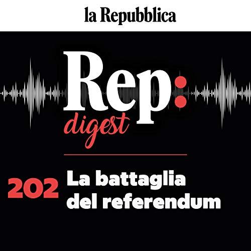 Couverture de La battaglia del referendum