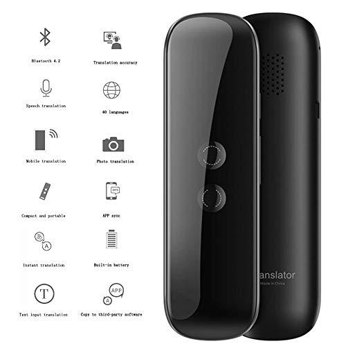 Draagbare language translator draadloze vertaler met Bluetooth E 40 talen, geschikt voor hardlopen, affari, overseas shopping