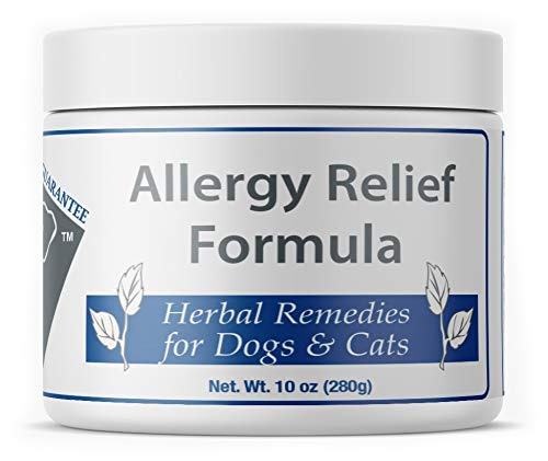 Doc Ackerman's - Allergy Relief Formula - Fast Acting Anti-Itch Relief - Enhanced with Green Tea Extract, Papaya, & Mullein - Immune Support for Pets - Professionally Formulated Herbal Remedy - 10 oz