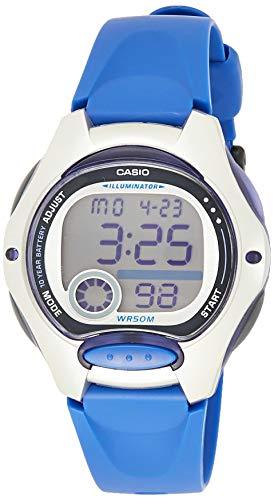 Casio Reloj Digital para Mujer de Cuarzo con Correa en Resina LW-200-2AVEG