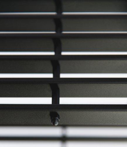 DanDiBo Bank D-Stil 150 cm Modern Gartenbank 10103 Sitzbank aus Metall Eisen Blumenbank - 4