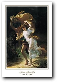 Wall Decor Pierre Auguste Cot The Storm Art Print Poster (16x20)