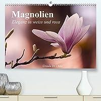 Magnolien - Eleganz in weiss und rosa (Premium, hochwertiger DIN A2 Wandkalender 2022, Kunstdruck in Hochglanz): Traumhafte Nahaufnahmen der Magnolien im Fruehling (Monatskalender, 14 Seiten )
