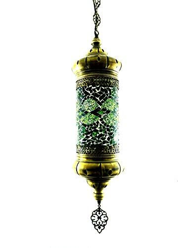 Oosterse Turks Tiffany stijl glazen mozaïek Turks mozaïek glas hanglamp cilinder binnenlamp plafondlamp buitenlamp handgemaakte hanglamp hanglamp cilinder