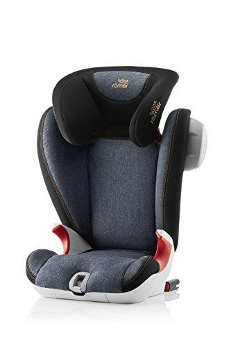 Britax Römer Kindersitz 3,5 - 12 Jahre I 15 - 36 kg I KIDFIX SL SICT Autositz Gruppe 2/3 I Blue Marble