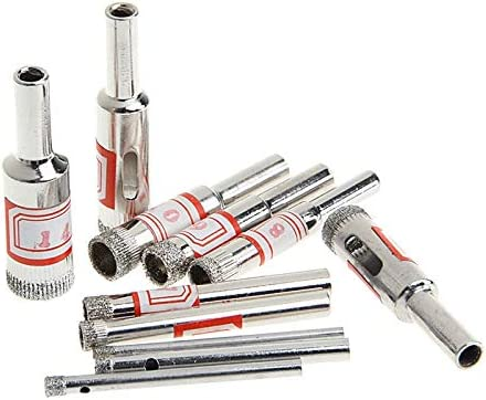 Drill Bits 11Pcs 4 years warranty 3-14mm Diamond Saw Hole Core Tool Coated Price reduction