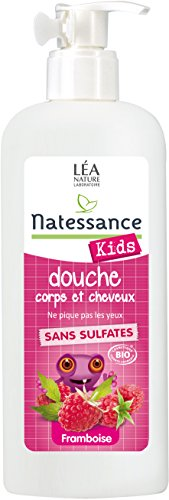 Natessance Shamp Douche Framboise Enfant Bio - 500 ml