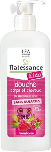 Natessance Shamp Douche Kids Framboise 500 ml