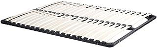 Designetsamaison Sommier à Lattes en Bois 140 x 190 cm
