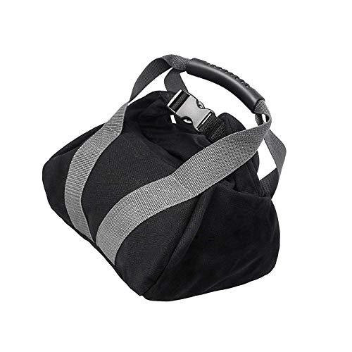 YCYUYK Peso Kettlebell Bolsa de arena ajustable para levantamiento de pesas, entrenamiento lleno de fitness