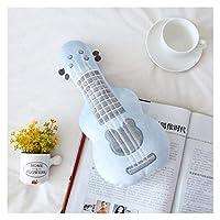 ぬいぐるみ 60cmクリエイティブシミュレーションギターぬいぐるみで家の装飾ベイビーアプリーブ人形ソフトピロークッション誕生日プレゼント 枕 (Color : Dark Khaki)