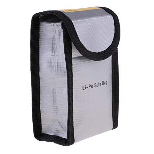 T TOOYFUL Lipo Battery Safe Bag Bolsa de Protección contra Incendios para Drone RC Quadcopter