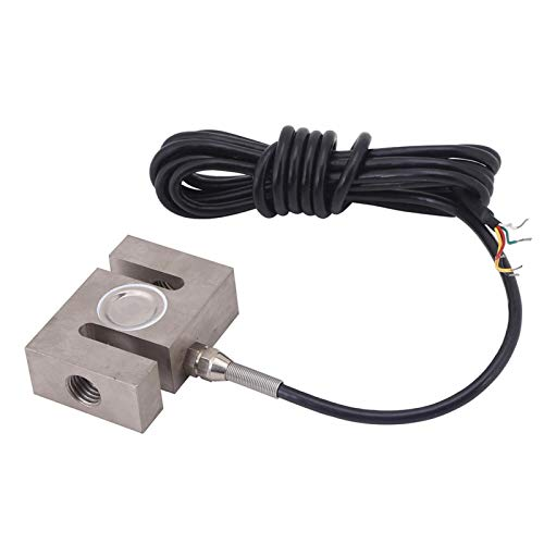 Sensor de ponderación, sensor de báscula de celda de carga de alta precisión tipo S con cable para báscula de cocina, báscula de baño para el cuerpo humano, báscula para joyería(2000kg)