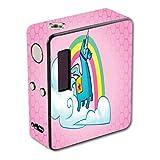Decal Sticker Skin WRAP Rainbow Unicorn Pink Background Design for Lost Vape Esquare DNA 40