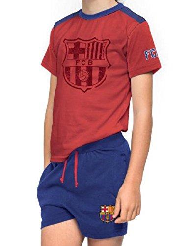 Pijama Adulto FC Barcelona-BARÇA Manga Corta (XL)