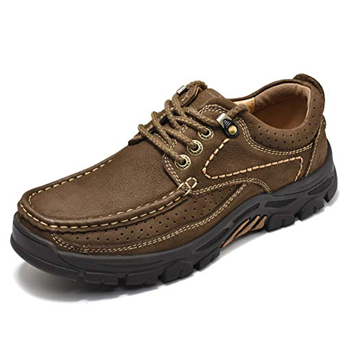 ZASDKE Mens Casual Shoes Hiking Shoes Comfortable for Walking Work Office...